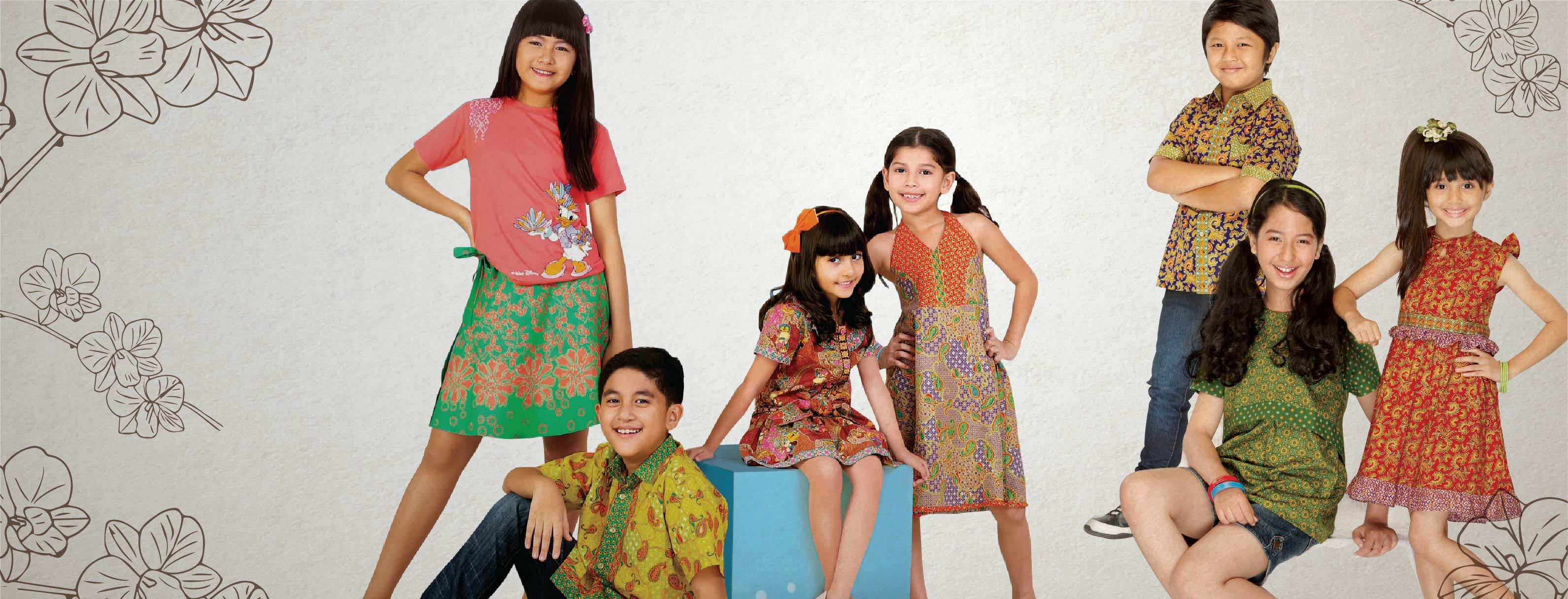 Yuk, Pilih Batik Fashionable untuk Si Kecil