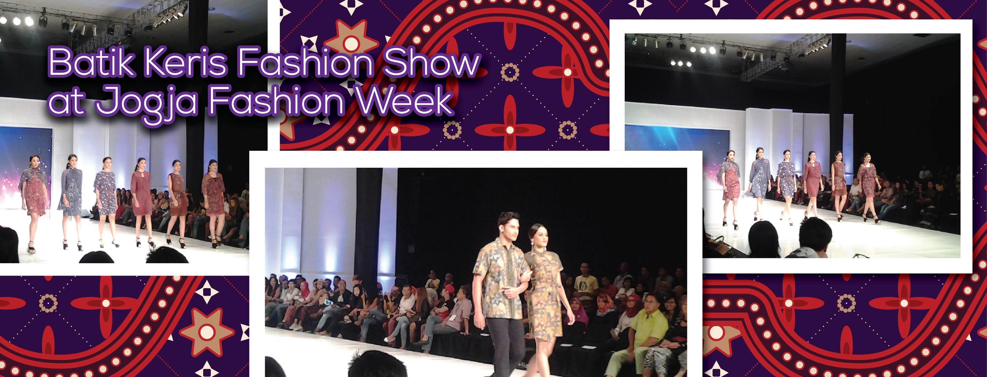 Batik Keris Fashion Show at Jogja Fashion Week